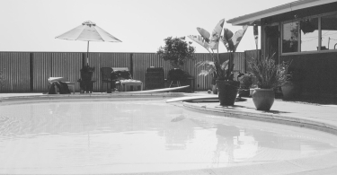 Black and white swimming pool thumbnail