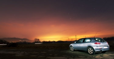 Car at night thumbnail