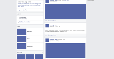 facebook mockup Archives - Free Graphics