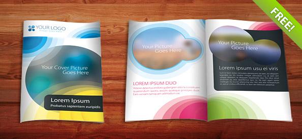Free brochure template psd free graphics maxwellsz