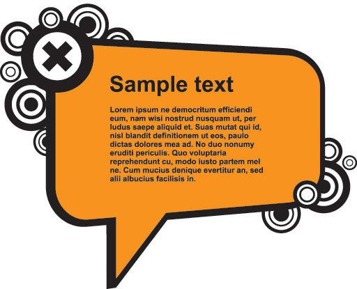 comment box vector graphic free graphics