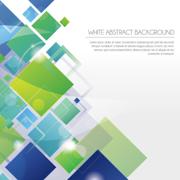 White Abstract Background Vector Graphic