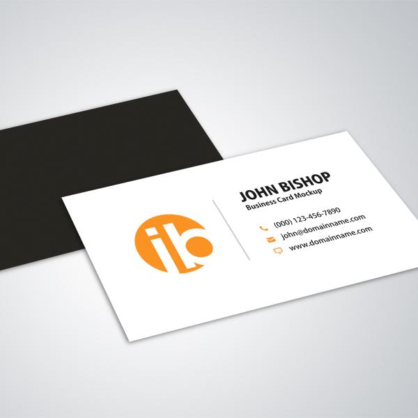 modern simple business card mockup design  free graphics